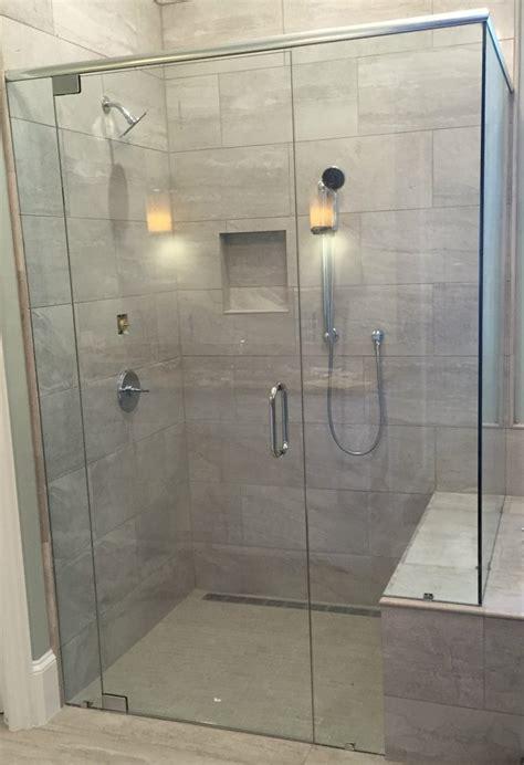 shower doors frameless showers door completely frameless sliding shower door in