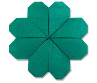 origami four leaf clover origami clovers and st s day on