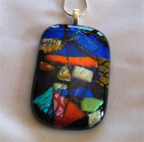 how to make glass pendant jewelry dichroic glass pendants how they are made kiln fired