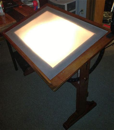 drafting table light box drafting table with light box used light table box