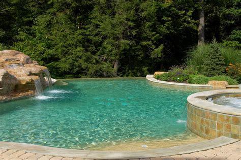 backyard infinity pools enhance your backyard with a luxurious infinity pool