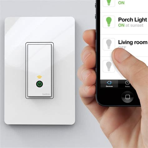 wifi garage door switch wifi light switch by wemo crnchy