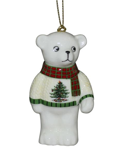 teddy tree ornaments tree teddy ornament by spode