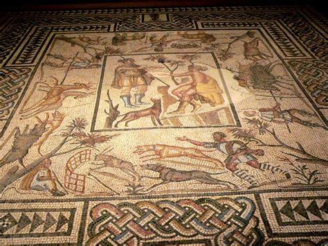 file roman mosaic floor losangeles county museum california jpg