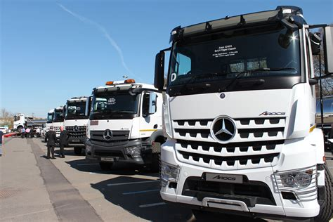 Mercedes Lineup by Mercedes Lineup With Arocs Commercial Vehicle Dealer