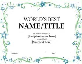 best certificate templates word certificate template 44 free download samples