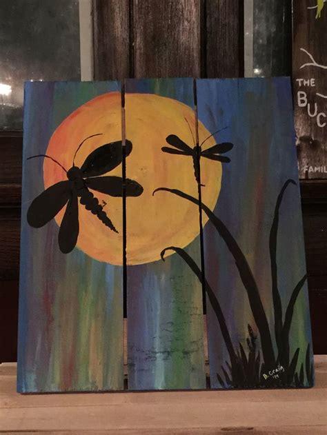 acrylic paint on wood ideas dragonfly painting acrylic on wood my artwork