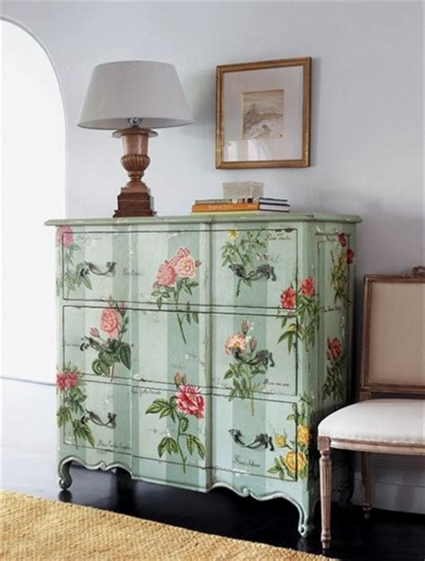 how to decoupage furniture with paper 39 furniture decoupage ideas give things a second