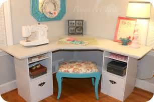 desk room pitterandglink craft room corner desk