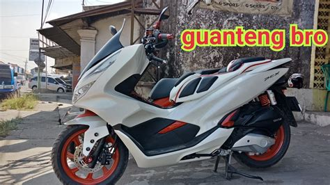 Pcx 2018 Putih Modifikasi by Modifikasi New Honda Pcx Lokal Putih Guanteng Bro