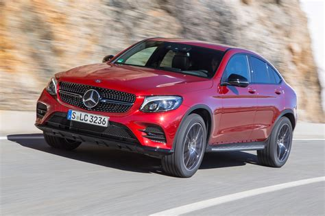 Mercedes Magazine by Mercedes Glc250d Amg Line Coupe 2016 Review By Car