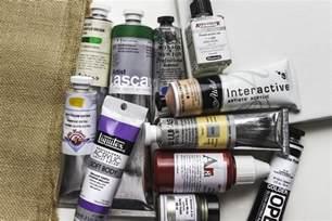 pro acrylic paint acrylic paint guide jackson s