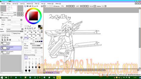 paint tool sai tutorial mewarnai cara mewarnai anime di paint tool sai mudah untuk pemula