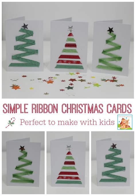 easy cards for to make 15 diy cards can make letters from santa