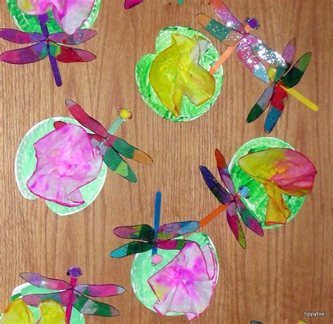 dragonfly crafts for tippytoe crafts dazzling dragonflies