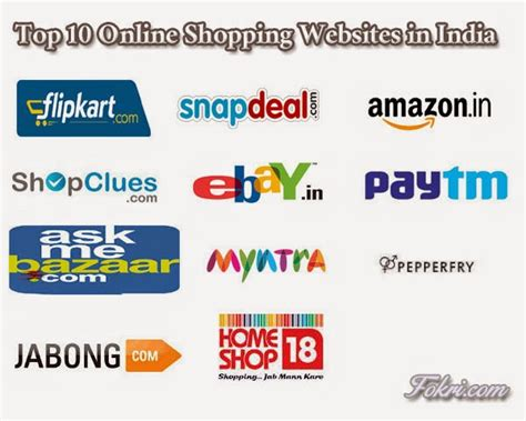 online best shopping sites top 10 online shopping websites in india 2015 fokri