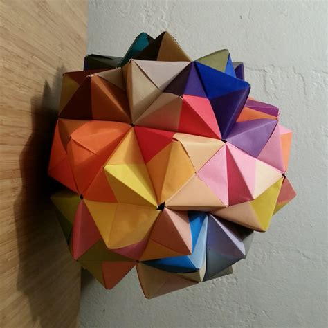 modular origami sonobe sonobe 90 unit modular origami emily longbrake