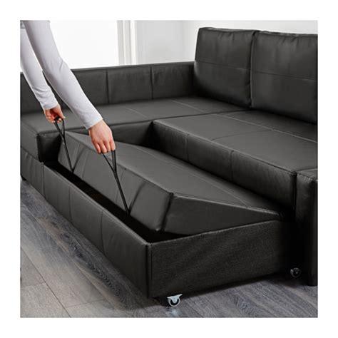 black sectional sofa bed friheten corner sofa bed with storage bomstad black ikea