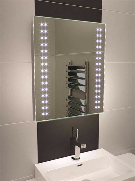 bathroom mirrors led lights led bathroom mirror 380 illuminated bathroom