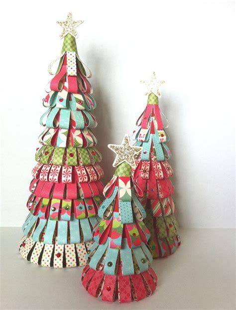 paper cone tree craft paper tree cones