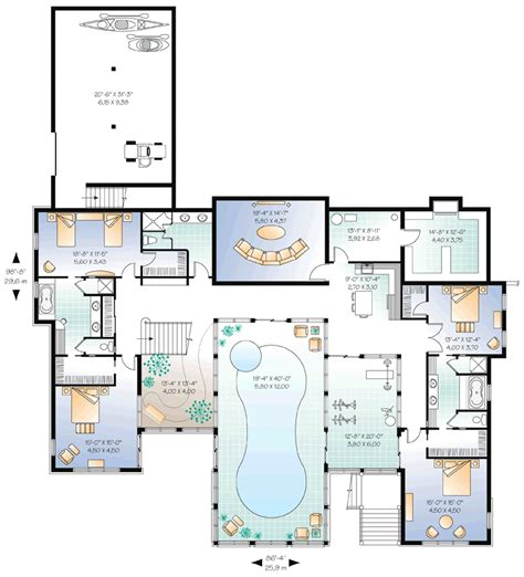 house plans with indoor pools home plan with indoor pool homedesignpictures