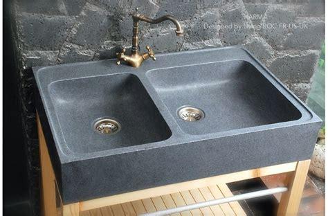 granite kitchen sinks uk 900mm genuine granite farmhouse kitchen sink karma