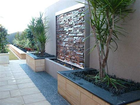 garden feature wall ideas creative landscapes water features landscaping