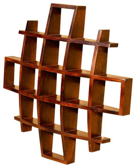 contemporary wall shelves contemporary wood display wall hanging shelves decor curio