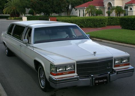 1986 Cadillac Fleetwood Brougham For Sale by 1986 Cadillac Fleetwood Brougham D Elegance Stretch Limo