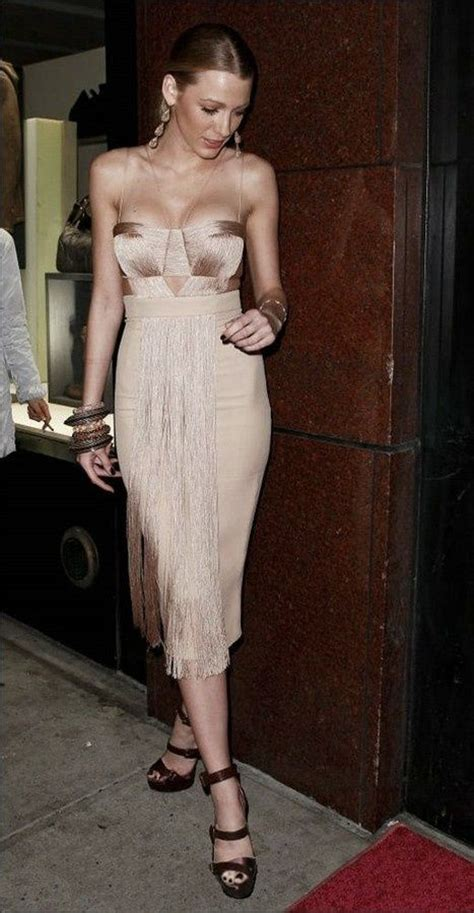 nude dresses blake lively nude dress celebrities pinterest