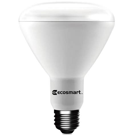 led light bulb price ecosmart 65w equivalent daylight br30 dimmable led light