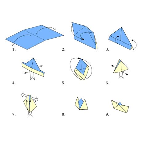 origami boat simple origami types origami boat wikibooks open books