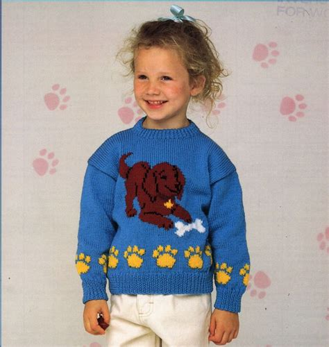 free childrens jumper knitting patterns childrens sweater knitting pattern pdf childrens jumper