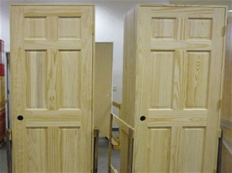 prehung solid wood interior doors set of 8 unfinished solid wood pre hung clear pine