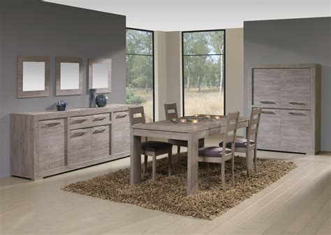 vaisselier argentier contemporain 4 portes pleines coloris cottage oak tania ii salle a manger