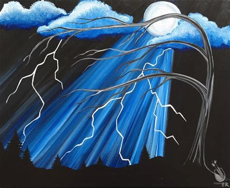paint with a twist greenville tx open to the lightning moonbeam thursday