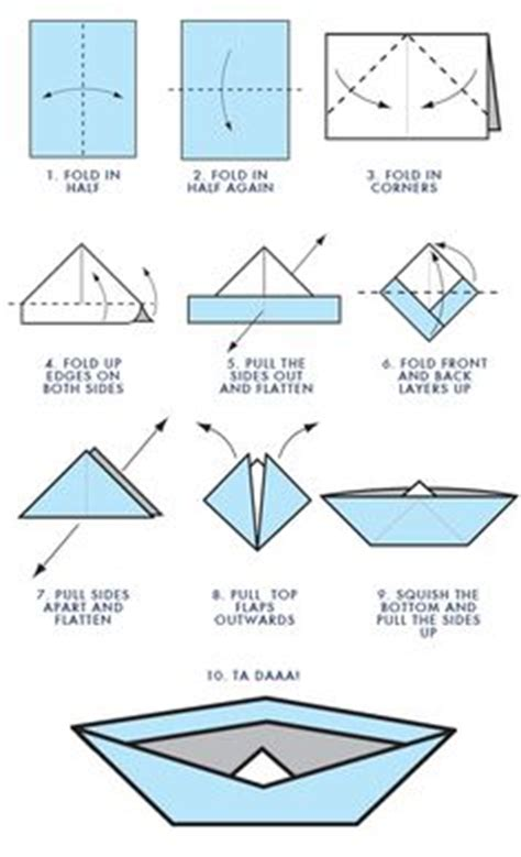 origami boat pdf 1000 ideas about origami boat on paper boats