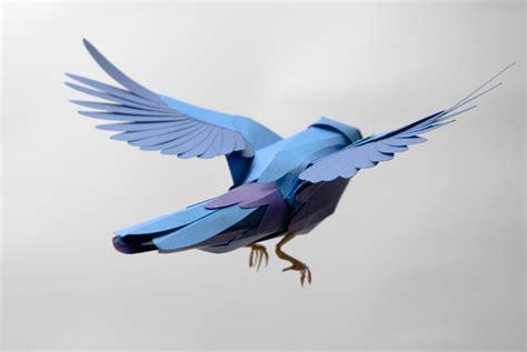 paper bird craft template 13 best photos of 3d paper bird template paper bird