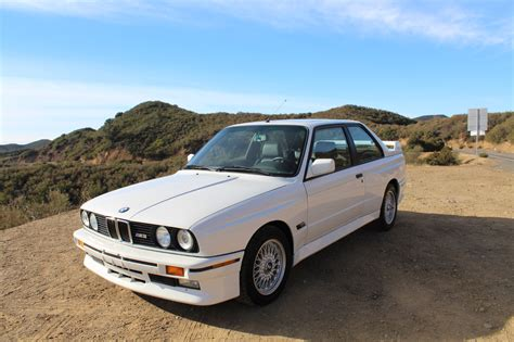 Bmw E30 by A Low Mileage Bmw E30 M3 Just Sold For 100 000