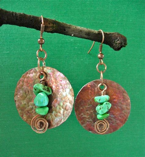 how to make copper jewelry scratch the surface with textured metal jewelry