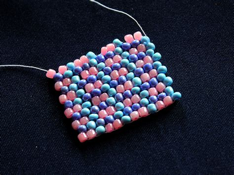 how to do peyote stitch beading how to do peyote stitch 13 steps with pictures wikihow