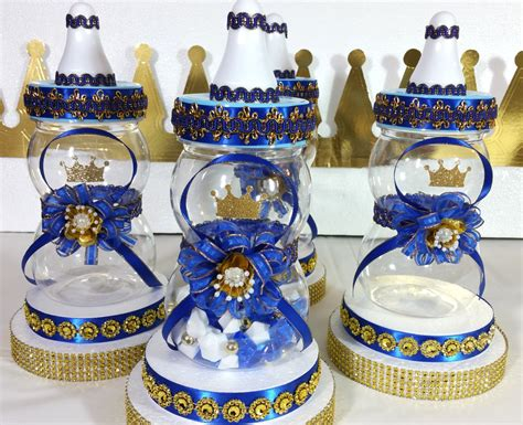 prince baby shower centerpieces baby shower centerpiece for royal prince by