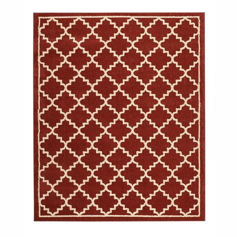 home decorators area rugs home decorators collection winslow picante 8 ft x 8 ft