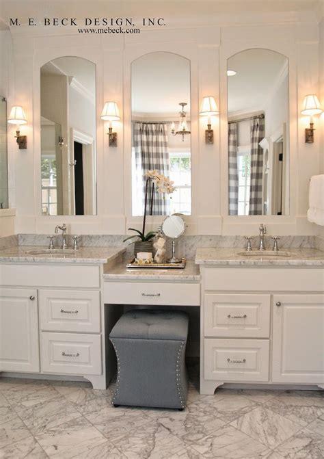 bathroom vanities with makeup vanity best 25 master bathroom vanity ideas on