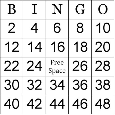 how to make bingo cards with numbers архивы блогов backupneon