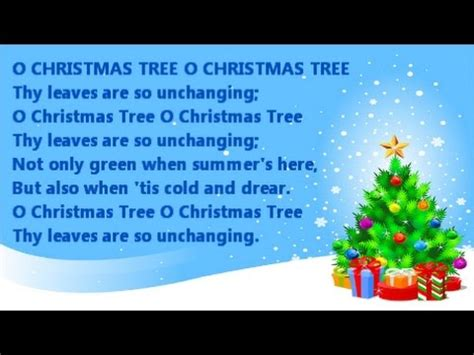 o tree in o tree instrumental with song lyrics from the