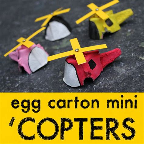 helicopter craft for cool diy egg crafts hative