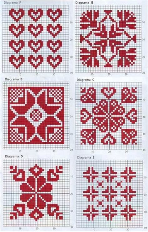 beginner fair isle knitting pattern 25 best ideas about cross stitch on
