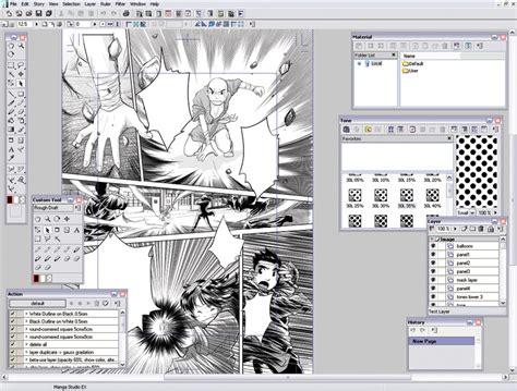 comic studio software review studio debut 4 comicsonline