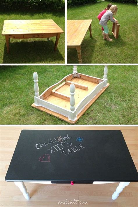 diy chalkboard for toddlers diy chalkboard kid s table idea for a college